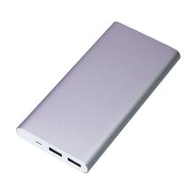 "Power Bank Металлический Xiaomi 3 ""Сяоми 3"" R1187 серебристый 10000 мач"